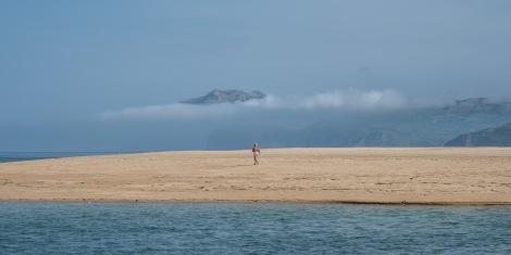 Sand, sea and mountains