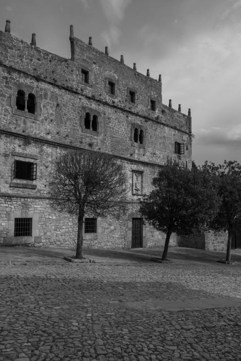 The mid-sixteenth century Renaissance-style Palacio de Los Velarde, Santillana del Mar