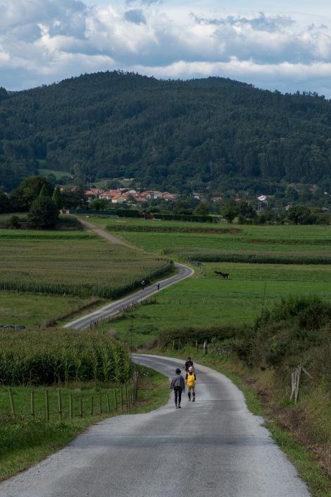 Pilgrims and winding roads