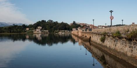 The bridge (N-634) across to San Vicente de la Barquera