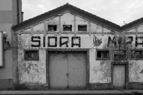 A Sidra (cider) factory in Villaviciosa