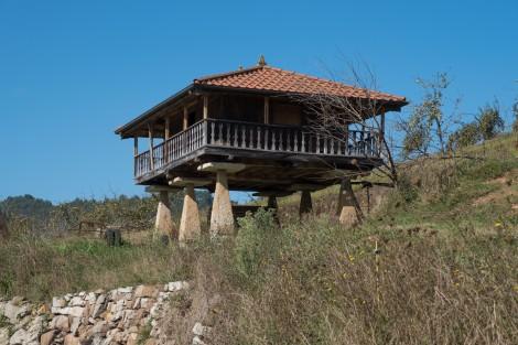 An Asturian hórreo (granary)