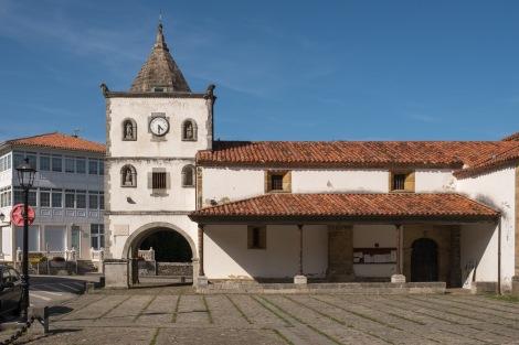 The Church of St Mary (Iglesia de Santa María) in Soto de Luiña
