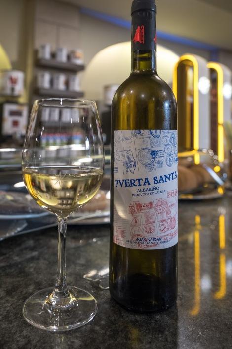 It be rude not to! Now I'm in Galicia, it's time for a glass of the local albariño, my favourite white wine