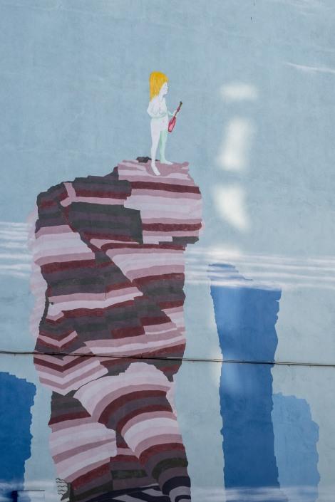 Streetart in Ribadeo