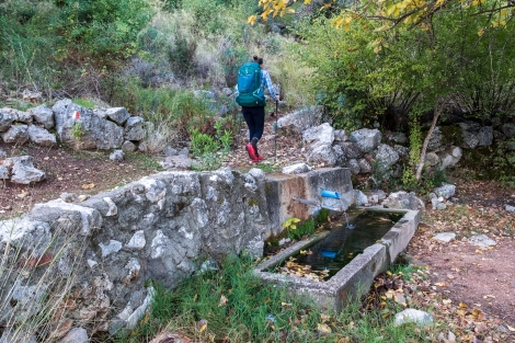 A typical water source on the Lycian Way