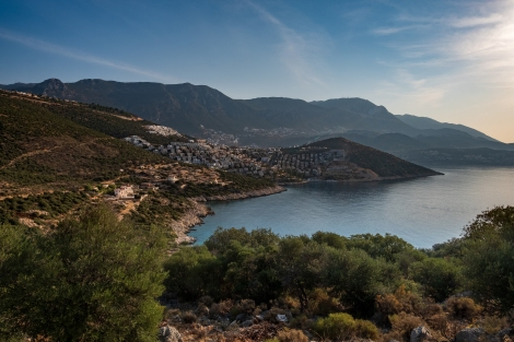 We thought that was Kalkan, now we realise Kalkan is actually the next bay over and out of view!