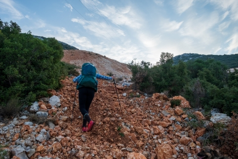 Of course this is the Lycian Way trail