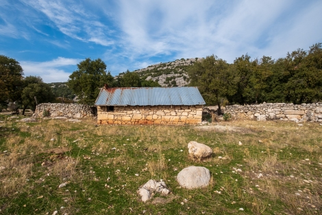 A shepherds hut on the Lycian Way