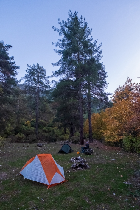 Our gorgeous camp spot for the night