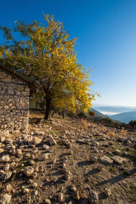 A shepherds hut in the mountains on the Lycian Way