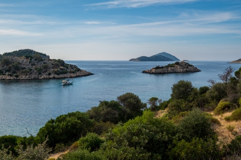 Picture perfect coastal views at every turn on the Lycian Way