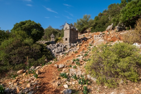 Aperlai ruins on the Lycian Way