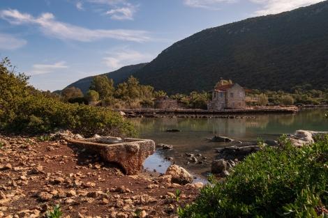 A sunken city at the Aperlai ruins