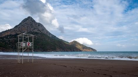 Beach view, Adrasan