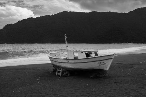 A boat in Adrasan