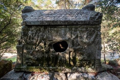 Alkestis Sarcophagus (Alkestis Lahdi) in Olympos
