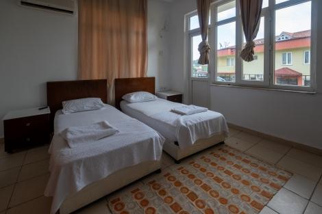 Our room for the night at Altıntaş Pansiyon in Göynük
