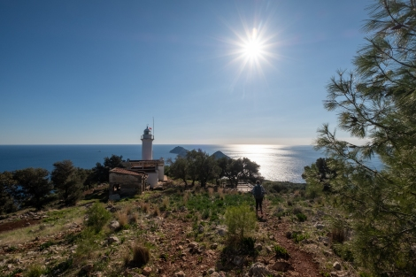 What a perfect day to end our hike at the Gelidonya lighthouse