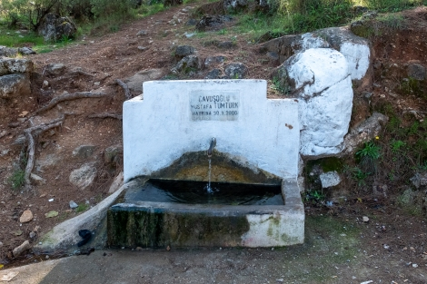 Water source on the Lycian Way