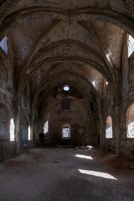 The 19th century Upper Church (Yukari Kilise) in Kayaköy