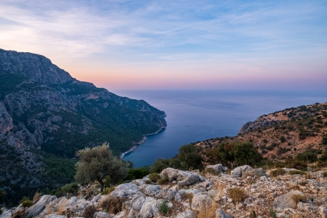 Sunrise on the Lycian Way