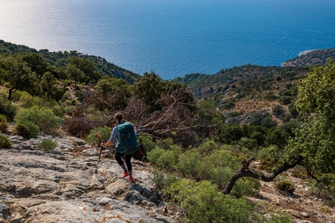 Going down on the Lycian Way