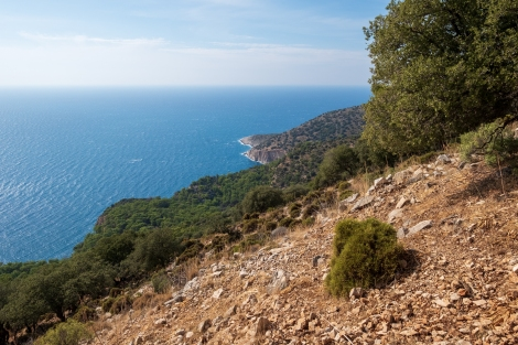 Bored of the Lycian Way coastal views yet?!