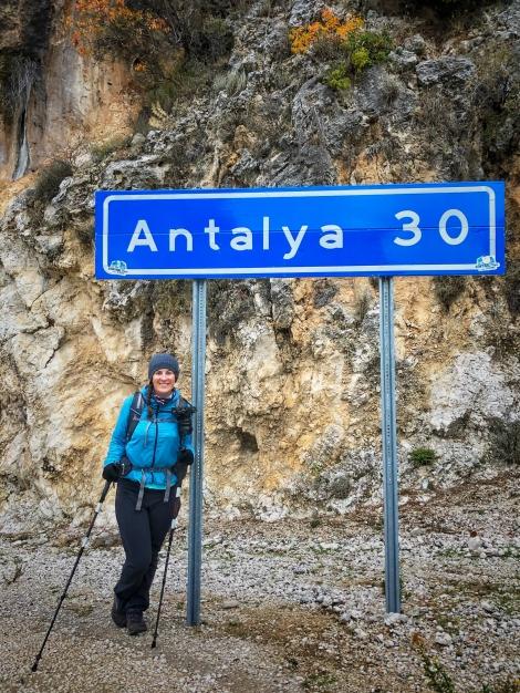 30km to Antalya